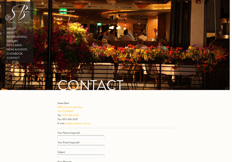 20 excellent contact pages   Webdesigner Depot   Public Relations & Social Media Insight   Scoop.it
