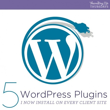 Branding Tips: 5 WordPress Plugins I Now Install On All Client Sites | Ahoy Graphics™ | Creativity as changing tool | Scoop.it
