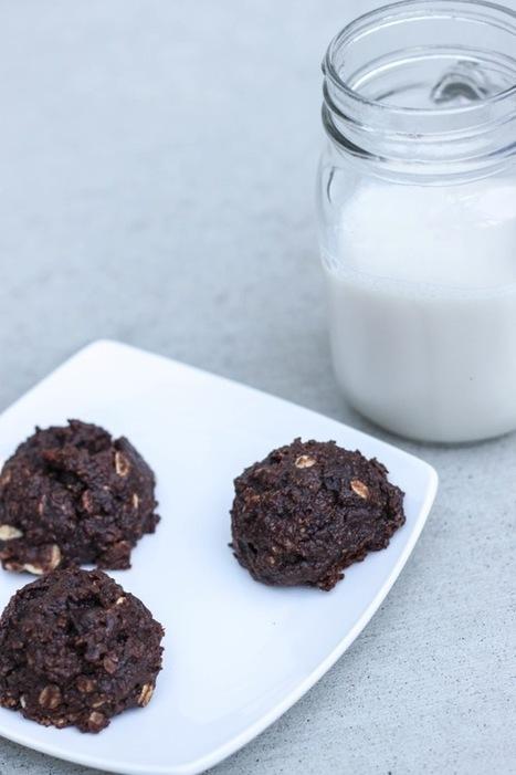 Vegan chocolate oatmeal peanut butter cookies | My Vegan recipes | Scoop.it