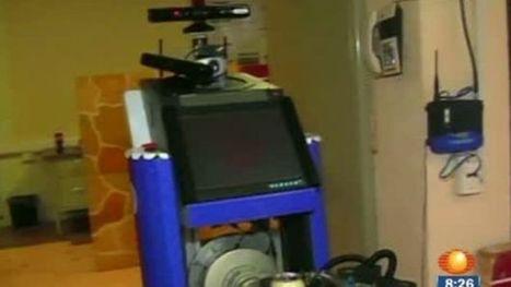 Crean en Puebla robot que ayuda a discapacitados - Noticieros Televisa | mecatronica | Scoop.it