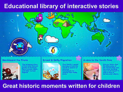 Blue Planet Tales - A digital library of nonfiction stories - Fun Educational Apps for Kids | iPads and Other Tablets in Education | Scoop.it