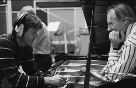 "Paul McCartney on George Martin: ""[He] left an indelible mark on my soul and the history of British music"" 