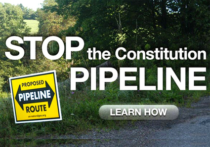 Mayor and Residents Speak Out Against Constitution Pipeline | EcoWatch | Scoop.it