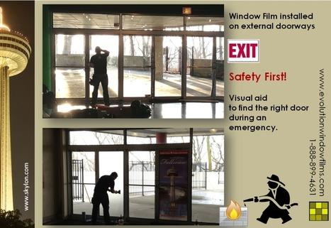 Skylon Tower installs window film to help with emergency planning   Decorative Window Film   Scoop.it