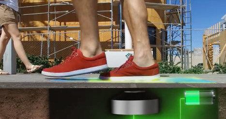 Ces lampadaires révolutionnaires fonctionnent grâce à l'énergie générée par les pas des passants | BGE Innovation | Scoop.it