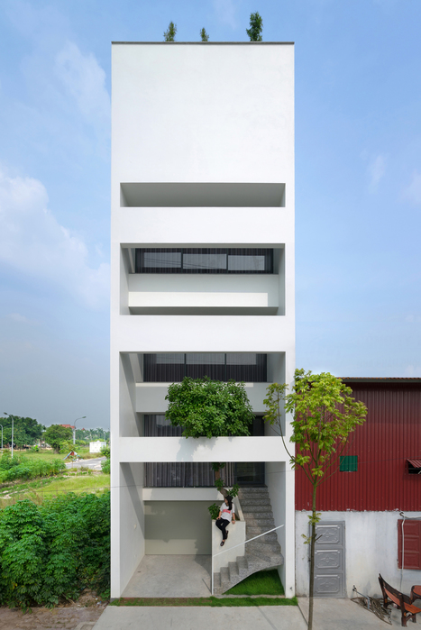 A House in TREES / Nguyen Khac Phuoc Architects | The Architecture of the City | Scoop.it