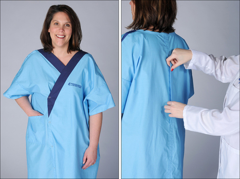 Hospital introduces new gown design: It has a back!   Troy West's Radio Show Prep   Scoop.it