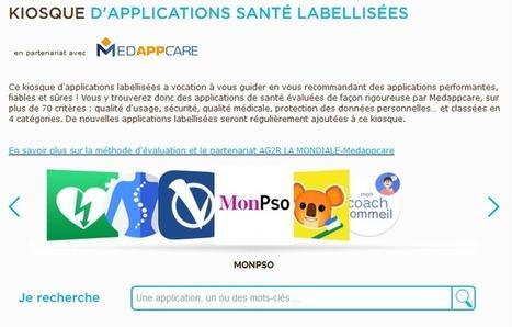 Kiosque d'applications mobiles santé par AG2R La Mondiale | Social Media, TIC y Salud | Scoop.it