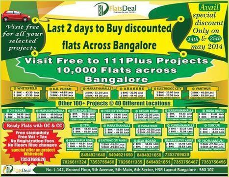 Flats Deal announces Special Discounts on any Selected Residential Properties | PRLog | FlatsDeal | Scoop.it