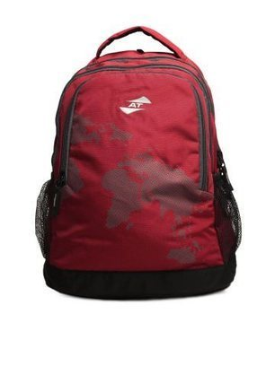 American Tourister Red Backpack for RS 888/-   nayacoupons.com   nayacoupons   Scoop.it