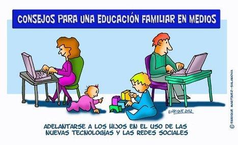 Consejo para una educación familiar en TIC   Disfrutar aprendiendo   Scoop.it