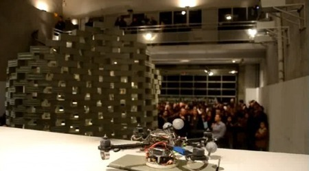 Video update: Flying robots build a 6-meter tower | Artificial Intelligence and Robotics | Scoop.it