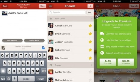Social Network Path Updating iOS App with Private Sharing, 'Inner ... | Web Bashing | Scoop.it