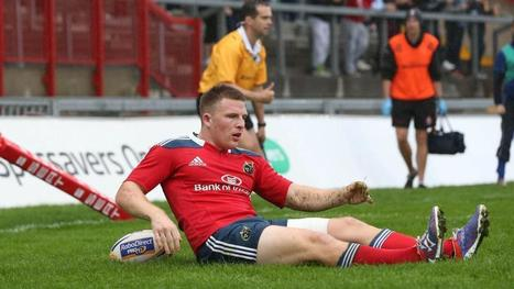 Andrew Conway to start for Munster against Zebre - Irish Times   'Rugby Shorts'   Scoop.it