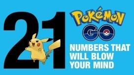 21 «Pokemon Go» numbers that will blow your mind | Educommunication | Scoop.it