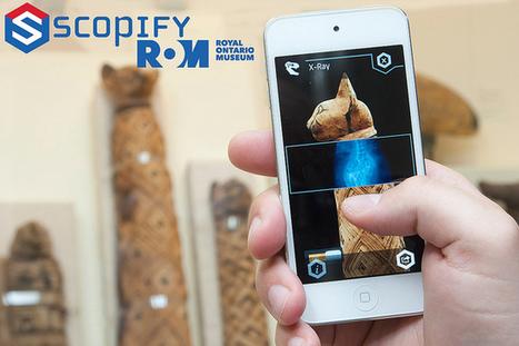 Clic France article / Avec sa nouvelle application ScopifyROM, le visiteur entre dans la peau d'un chercheur au Musée Royal de l'Ontario | Muséo Tics and Tricks | Scoop.it