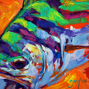 About a fish artist Fly fishing and Marine art of painter Mike Savlen | Sporting Marine Art | Scoop.it