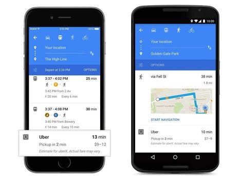 GoogleMaps rafraîchit son interface sous Android et iOS | toute l'info sur Google | Scoop.it