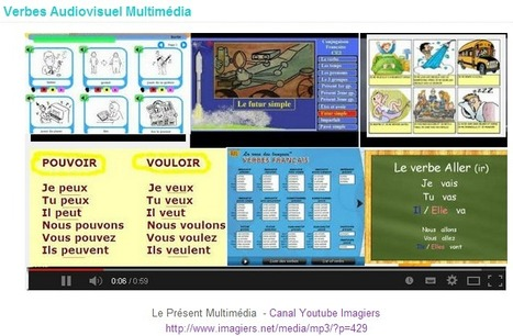 Verbes Audiovisuel Multimédia - Grammaire AUDIOVISUELLE sur Internet | Remue-méninges FLE | Scoop.it