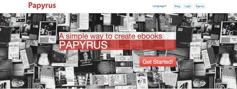 Create Ebooks - Papyrus Editor | Frankly EdTech | Scoop.it