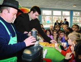 La pomme se met en verres à l'école primaire - Saint André les Vergers | Le fruit de l'actualité | Scoop.it