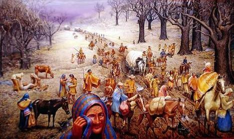 Trail of Tears: From a Middle School Student's Perspective | digital divide information | Scoop.it