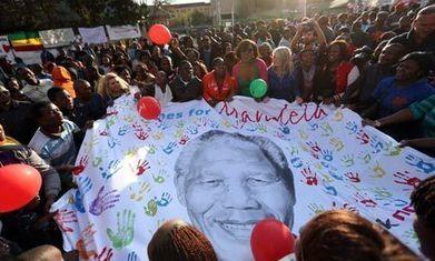 South Africa celebrates Nelson Mandela's 95th birthday | Ideer til skolebruk | Scoop.it