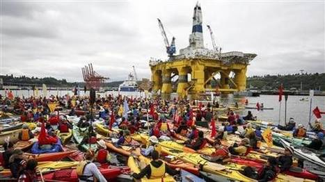 'Shell No' demo on Arctic drilling - Independent.ie | All about water, the oceans, environmental issues | Scoop.it