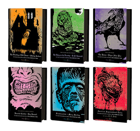 Cover art released for Penguin Horror series curated by Guillermo del Toro — EXCLUSIVE | EW.com | Booketing | Scoop.it