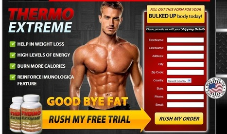 Thermo Extreme Muscle Building Supplement Review - Rush your Trial Muscle Building Online | Build Masculine Look and Look Great! | Scoop.it