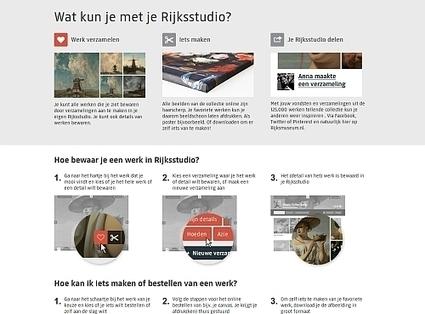 Rijksstudio: een website om van te smullen… en van te leren - Artikel - Bibliotheekblad | Bibliotheek 2.0 | Scoop.it
