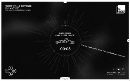 Listen and watch Joy Division's Site of the Day AWWWARDS | Radio France & LeMouv' | Radio 2.0 (Fr & En) | Scoop.it