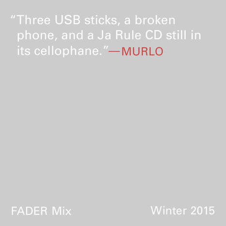 FADER Mix: Murlo | mixtape release info. | Scoop.it