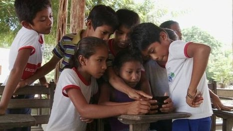 The mobile internet arrives in the Amazon Rainforest - BBC News | Southern Hemisphere | Scoop.it
