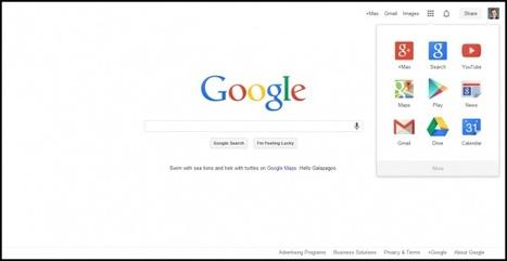 Nouveau Google en cours avec une nouvelle barre de navigation | Google APPS & Outils | Scoop.it