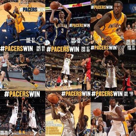 Twitter / Pacers: 9 games. 9 wins. ... | NBA games | Scoop.it
