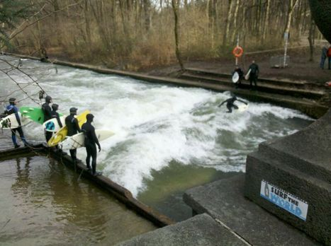 SURFtheWORLD - AOUNDtheWORLD<br/>@ Eisbach; Munich<br/><br/><br/>http://www.surf-the-world.com/... | Surf travel | Scoop.it