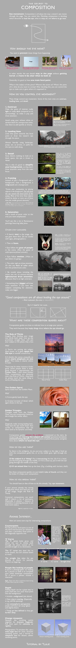 The Secret to Composition | digital art and media | Scoop.it