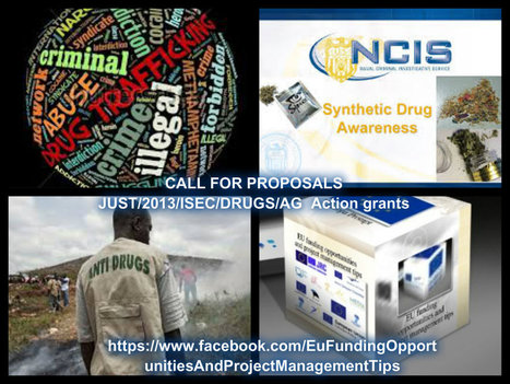 CALL FOR PROPOSALS  JUST/2013/ISEC/DRUGS/AG  Action grants   Projekty EÚ   Scoop.it