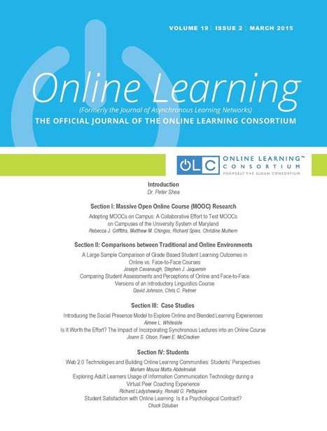 Online Learning 19-2 - OLC | Educación flexible y abierta | Scoop.it