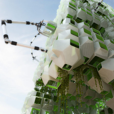 Eco-Pod Vertical Farming Tended By Robots | Impact Lab | Vertical Farm - Food Factory | Scoop.it