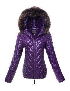 Women's Duvetica Aida Short Down Jacket Purple | winter wear | Scoop.it