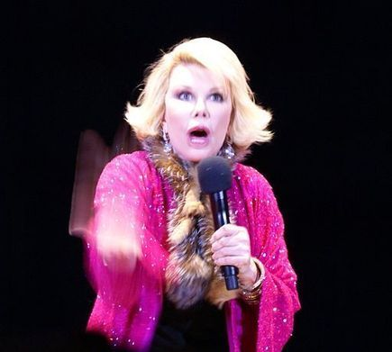Joan Rivers is unapologetic about Holocaust joke | National News and Politics | Scoop.it