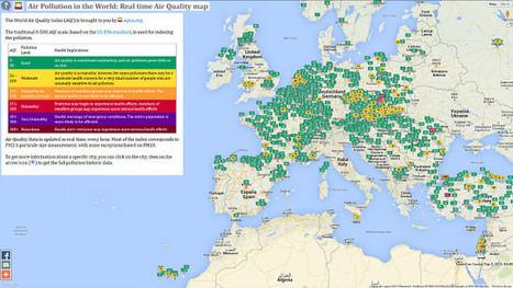 ¿Cuales crees que son los países más contaminados del mundo? WAQI te lo muestra en tiempo real | Educacion, ecologia y TIC | Scoop.it