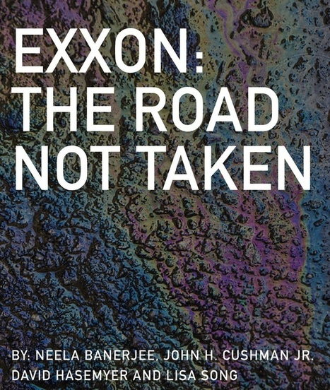ICN honored for Exxon series with Oakes Award for environmental journalism | Sustain Our Earth | Scoop.it