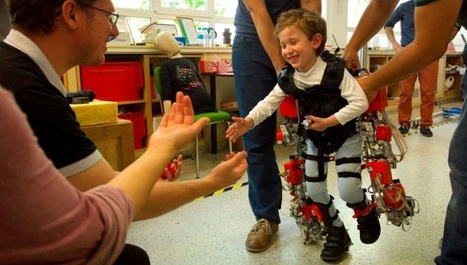 Cet exosquelette a été conçu spécialement pour les enfants | Sociétés & Environnements | Scoop.it