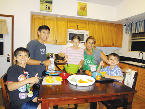 Kids in the kitchen   Healthy living   Scoop.it