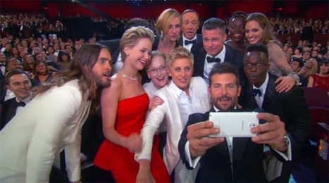 Samsung debuts its first Galaxy S5 ad during the Oscars and turns sponsorship dollars into all-star selfies | Communication Advisory | Scoop.it