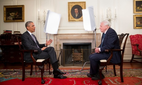 David Attenborough and Barack Obama face-to-face in TV interview | Sustainable Futures | Scoop.it
