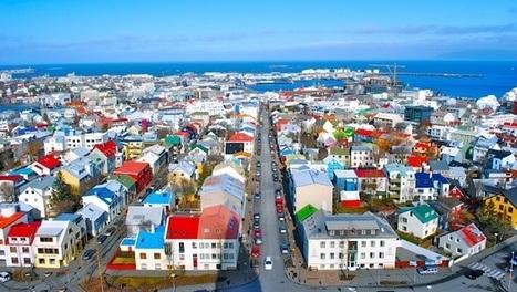 Les maisons colorées de Reykjavik   I love it !   Scoop.it